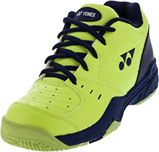 Yonex Power Cushion Eclipsion Junior Tennis Shoes - Yellow/Navy