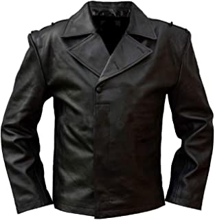 leather panzer jacket