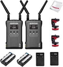 Hollyland Mars 400S 1080p HDMI SDI Transmission System 5G Wireless Image Transmission to 4 Devices in a Distance of 400ft ...
