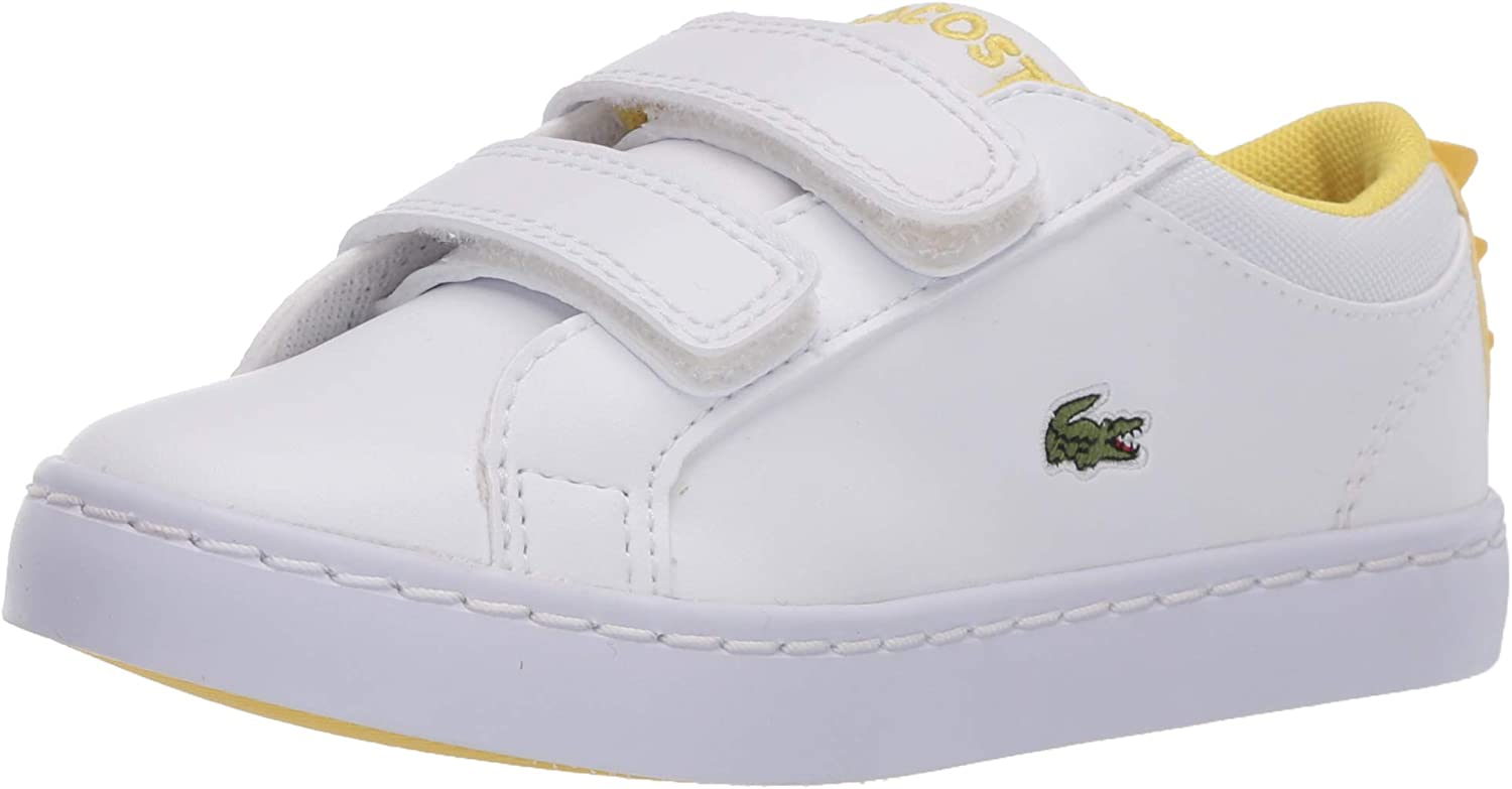 Colorado Springs Mall Lacoste Unisex-Child Straightset 120 4 years warranty 1 Sneaker Cui