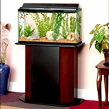 20 Gallon Wood Aquarium Stand Paneled for 20/29 Maximum Concealed Storage Located Behind Hinged Door - Skroutz Deals