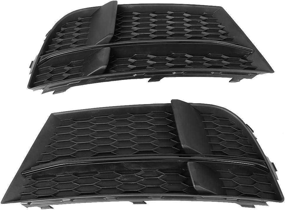 Fog Light Max 71% OFF Cover Milwaukee Mall Car Modified Gri Accessory Frame Lamp Black