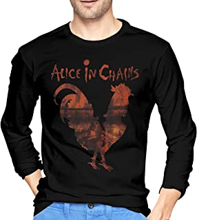 Alice in Chains -Rooster Dirt1 Men's Long Sleeve T Shirts Black