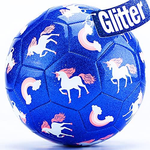 CubicFun Pallone da Calcio Taglia 3 con Pompa...