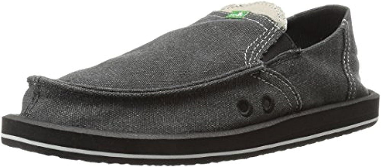 Sanuk Now on sale Men's Pick Pocket Loafers Shoe Max 74% OFF Cleaner Oxy Bundle