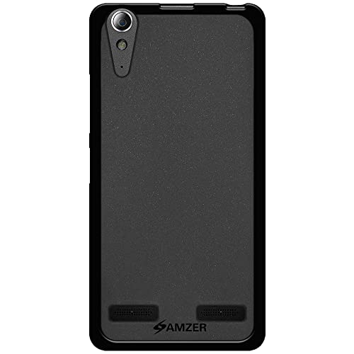 AMZER Pudding Soft Gel TPU Fit Case Cover Skin For Lenovo A6000 Plus