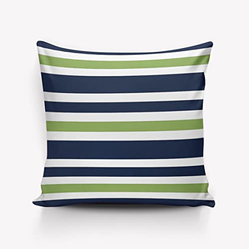 Navy And Green Throw Pillows Amazoncom