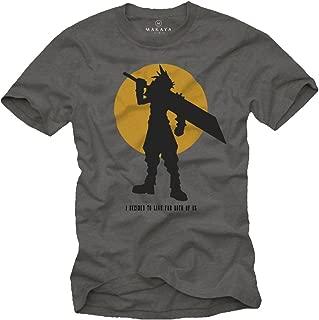 MAKAYA Gamer T-Shirt - Fantasy Xv - I Decided to Live for Both of us