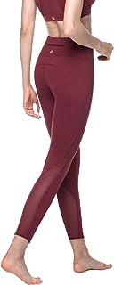 LAPASA Women's Yoga Pants High Waist Sports Leggings Tummy Control Tights for Workout & GYM Hidden Pocket L01&L22