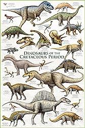 7. EuroGraphics Dinosaurs Cretaceous Period Poster