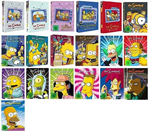 Die Simpsons Staffel 1-19 (1+2+3+4+5+6+7+8+9+10+11+12+13+14+15+16+17+18+19, 1 bis 19) [DVD Set]