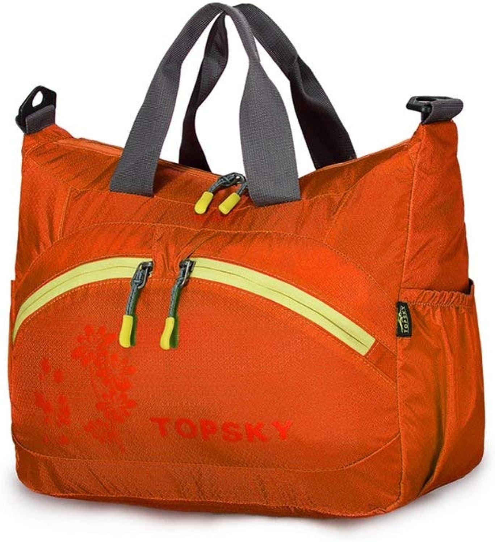 Lounayy Liebhaber des Aufbewahrungstasche Tourismus Casual Fashion Tasche (Farbe   Orange, Größe   One Größe)