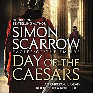 Day of the Caesars     Eagles of the Empire, Book 16              Auteur(s):                                                                                                                                 Simon Scarrow                               Narrateur(s):                                                                                                                                 Jonathan Keeble                      Durée: 12 h et 3 min     11 évaluations     Au global 4,9