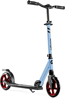 Lascoota Scooters for Kids 8 Years and up - Featuring Quick-Release Folding System - Dual Suspension System + Scooter Shou...