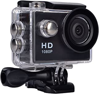 ieGeek Action Camera 1080P 2 Inch LCD Screen Action Cam, 30M Waterproof Sports Cam 140 Degree Wide Angle Lens, Outdoor DV ...