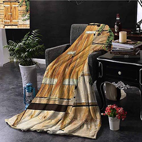 GGACEN bont gooien deken Oude Steen Huis met Oude Venster Rolluiken in Dorp Decoratieve Afbeelding Home Decor Gooi Lichtgewicht Cozy Pluche Microvezel Effen Deken