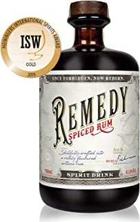 Remedy Spiced Rum 1 x 0,7 l - Gold Meinigers International Spirits Award 2019 - Feine Noten von u.a : Vanille, Orangenschalen