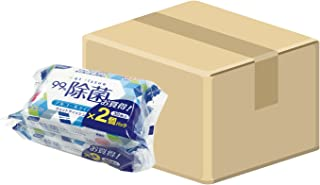 (ケース販売) 日本製 リファイン アルコール除菌 おでかけウェットティッシュ 30枚入×2個パック×36個セット(計2160枚) LD-111