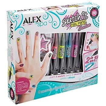 ALEX Toys Sketch It Nail Pens Salon Girls Fashion Activity