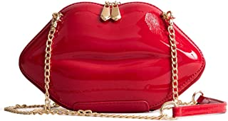 Best red lips clutch bag Reviews