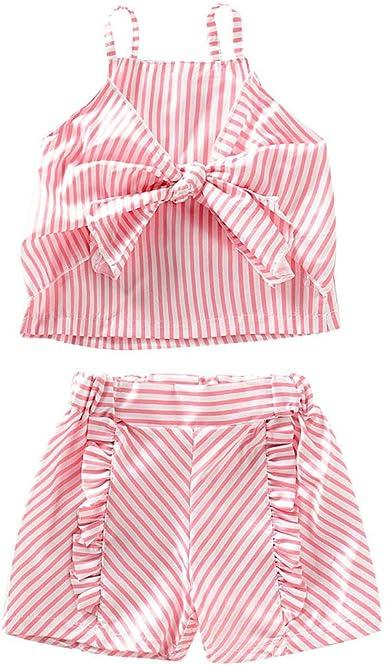 Ropa bebé niña Verano niños Camiseta bebés niñas sin Mangas ...