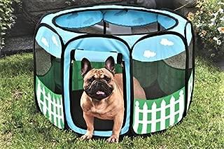 Etna Pet Puppy Dog Playpen Exercise Pen Kennel Tent Play Pen Foldable Indoor Outdoor