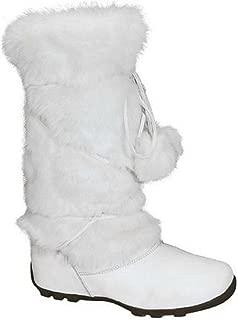 Best white fur boots Reviews