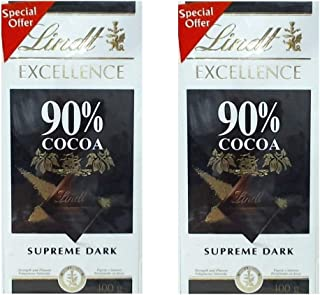 Lindt Excellence Cocoa 100 g Twin Pack 1/1 Pack