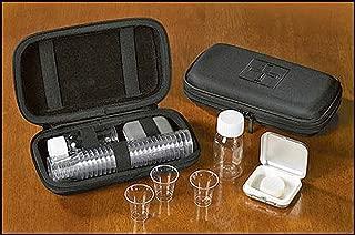 Minister Clergy Disposable Communion Cups Portable Communion Set Cloth Black Zipper Case