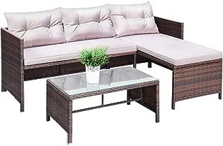 rattan furniture sofa set