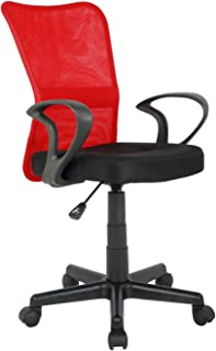 amazon fr chaise de bureau rouge