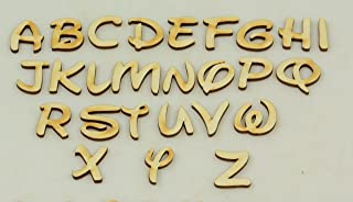 1 Pc, 4 Inch X 1/4 Inch Thick Walt Disney Letters C For Kids Rooms & Children'S Craft Projects