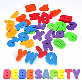 NUOLUX Baby Bath Toys Letters and Numbers Educational Toys 36pcs