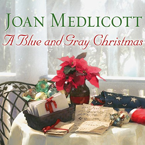 A Blue and Gray Christmas audiobook cover art