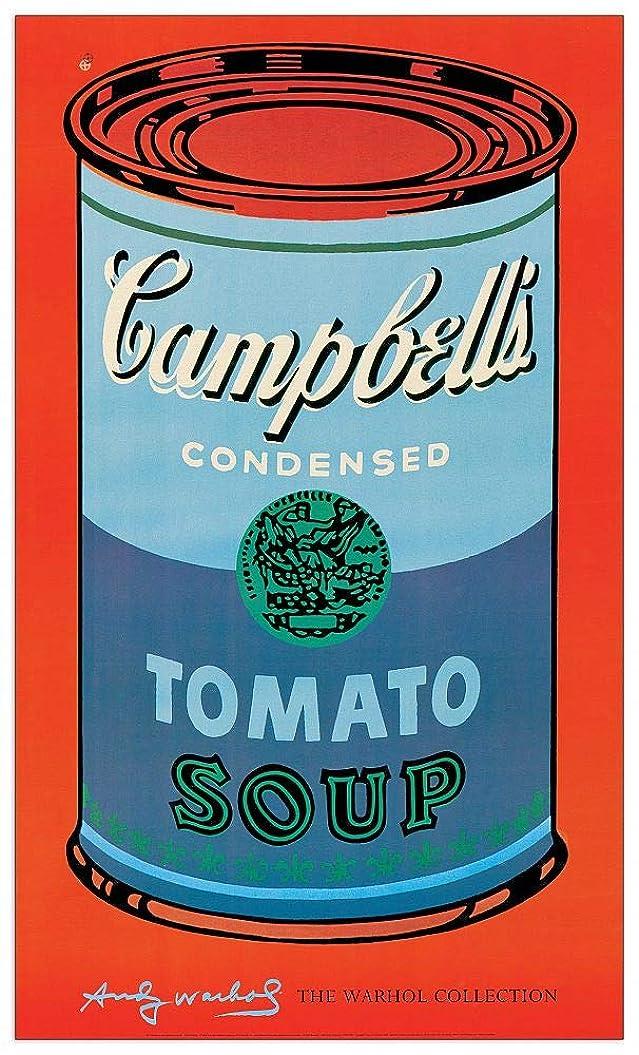 箱温度教育Artopweb絵画 Warhol - Campbell's Soup Can, 1965 装飾パネル, マルチカラー, サイズ: 61x101 Cm