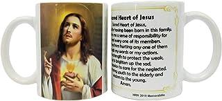 Christian Coffee Mug - Sacred Heart of Jesus Prayer Mug