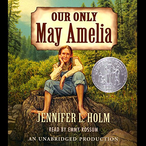 Our Only May Amelia audiobook cover art