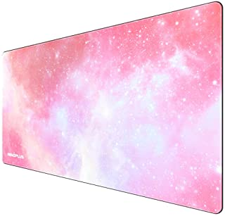 Gaming Mouse Pad, Large Mouse Pad XL Pink, Mouse Pads for Computers 31.5×15.75In, Large Extended Gaming Keyboard Mouse Pad...