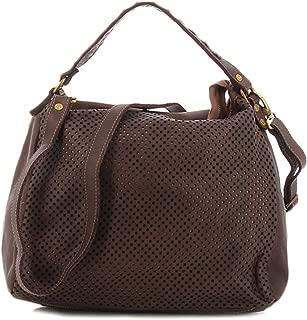 Civico 93 openwork brown bag