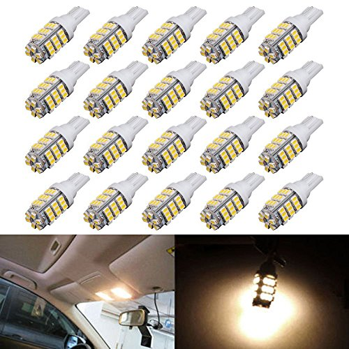 AUTOUS90 20 x RV Trailer T10 921 LED Bulb