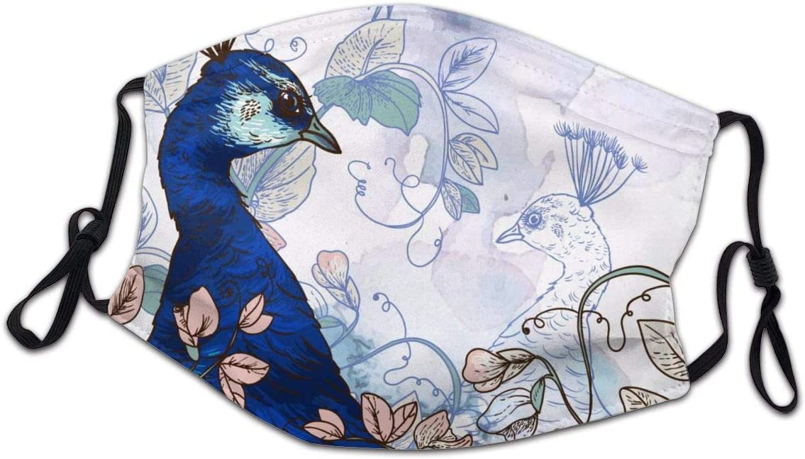 Lcokin Child Polyester Material Background Vintage Washa Sale special price Max 44% OFF Peacock