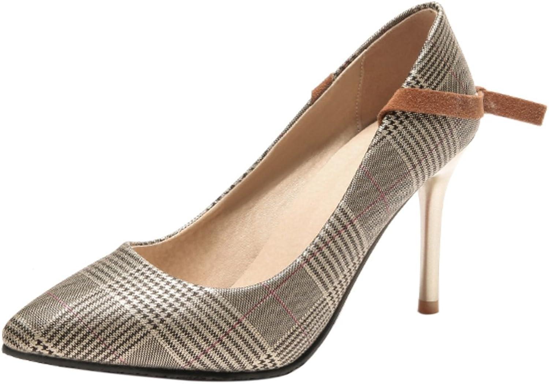 CarziCuzin Women High Heels Pumps shoes Slip On