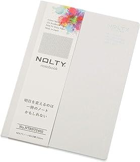 能率 NOLTY ノート B6 方眼 グレー NTBNT2402