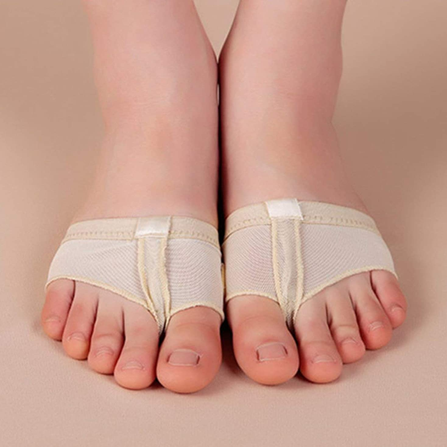 民兵代名詞家事1 Pair Footful Foot Thong Toe Undies Ballet Dance Paws Metatarsal Forefoot Half Lyrical free shipping