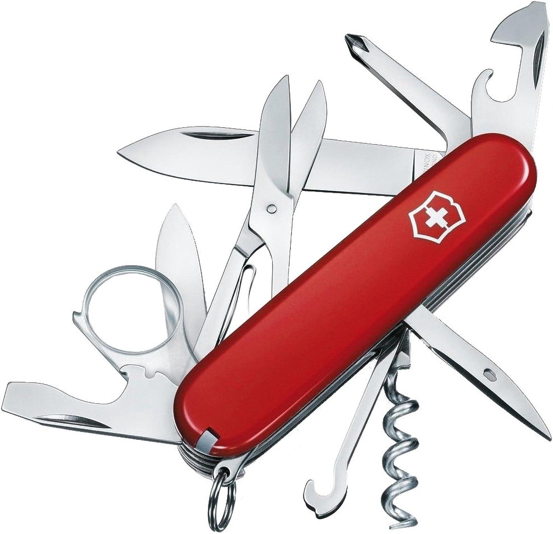 Victorinox Taschenmesser Explorer (16 Funktionen, Lupe, Lupe, Lupe, Phillips Schraubendreher, Schere) B001U528CC | Up-to-date-styling  6df2bc