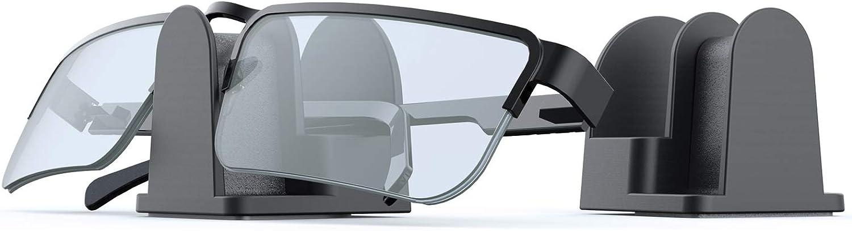 Glasses Sunglasses Stand, Eyeglasses Wall Mount/Desk Stand/Car Mount Holder,2 Pcs