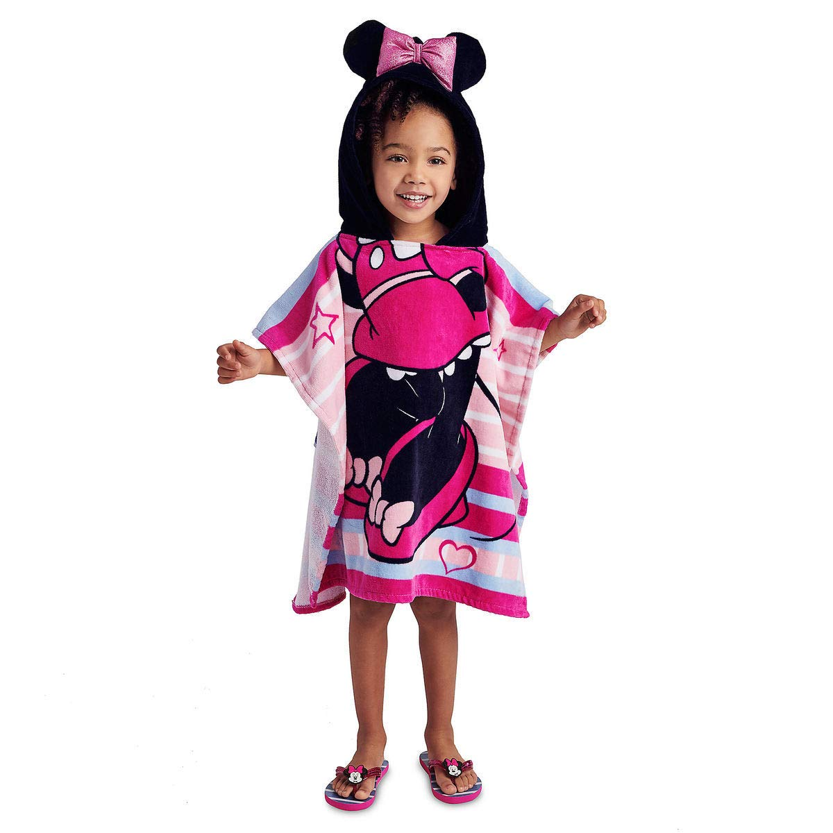 Disney Minnie Mouse Hooded Max 67% OFF Pink Rare Towel for Girls