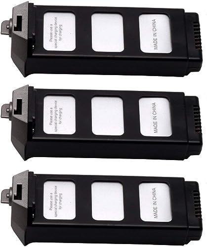 mejor reputación Funnyrunstore 3pcs 7.4V 1800mAh Li-po batería batería batería con 4 en 1 Cargador para MJX Bugs 5W B5W RC Drone Quadcopter Aircraft UAV Accesorios  precios mas bajos