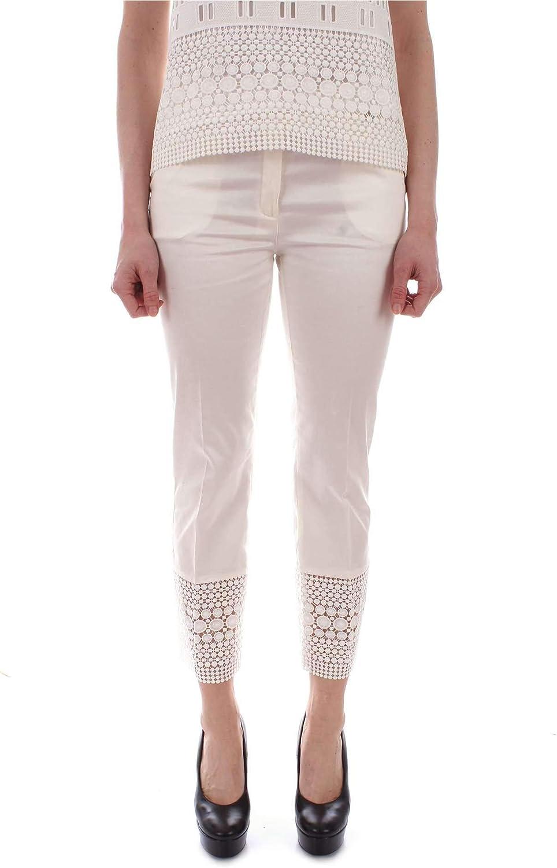 ELLEI Women's 70651WHITE White Cotton Pants