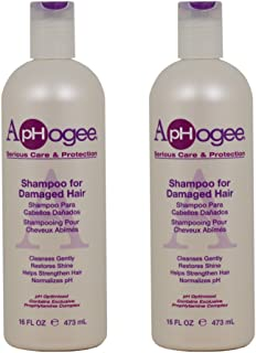 """ApHogee Shampoo for Damaged Hair 16oz """"Pack of 2"""""""